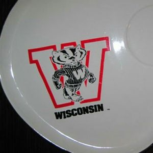 Vintage Dining - Vintage UW Wisconsin Madison Bucky Badger plates